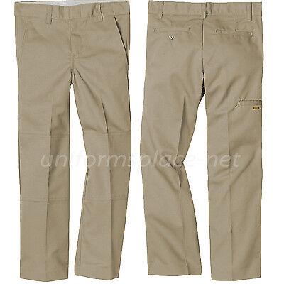 School Uniform Pants Boys Flat front adjustable Waist Uniforms Pant