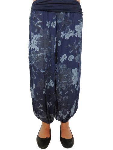 Señora pantalón cagado tamaño 44 46 48 50 52 54 sobre tamaño Pump pantalones pantalones de verano 77//89
