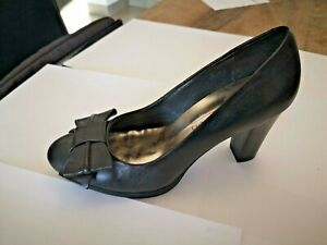 60% pas cher mieux choisir volume grand Détails sur Jb martin escarpin cuir noir talon 7cm patin 1 cm NEUF Valeur  139E Pointure 36
