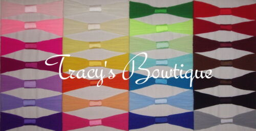 Pick 100 Infant Nylon Pantyhose Interchangeable Headbands for Clips /& Hair Bows