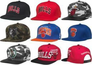 6e6f04c0010d2 NBA Snapback Cap Hat, Chicago Bulls, Miami Heat, New York Knicks ...