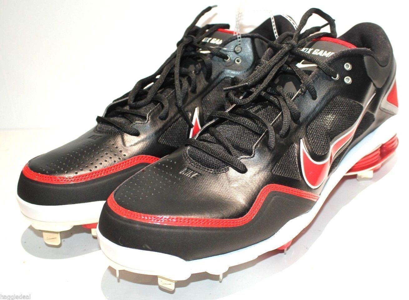 online retailer 1816e ecfbf ... Nike Nike Nike Air Shox Gamer Baseball cleat zapatos para hombres talla  16 tacos de rojo ...