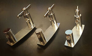 Maxwell 9.5mm Floor Tom Leg Bracket (Set of 3). Think round badge 50s and more!