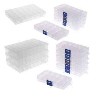 10-15-24-36-Plastic-Clear-Storage-Box-Case-Jewelry-Bead-Organizer-Containers