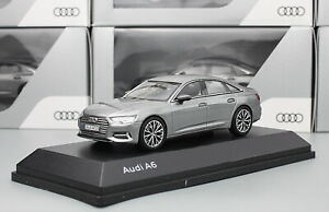 1-43-Scale-Audi-A6-2018-Gray-Diecast-Car-Model-Toy-Collection-Gift