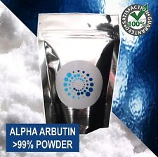 10g PURE ALPHA ARBUTIN POWDER >99%; Skin lightener / whitener / scar treatment