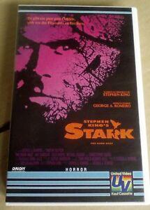 Stephen-King-039-s-Stark-1993-VHS-Kassette-mit-Timothy-Hutton-und-Amy-Madigan