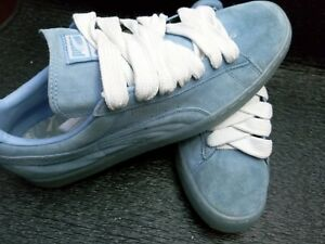 Details about Puma Suede Classic Ice Mix Sneakers Blue Mens size 11