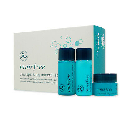 [Sample] [Innisfree] Jeju Sparkling Mineral Special Kit