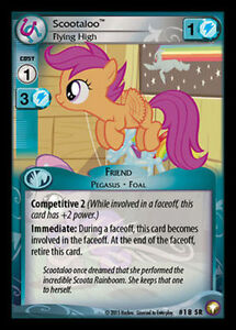 My Little Pony Equestrian Odysseys Scootaloo Flying High 18 Sr Mlp Ccg Ebay Here is our first original song i'll fly higher for the ever awesome scootaloo. details about my little pony equestrian odysseys scootaloo flying high 18 sr mlp ccg