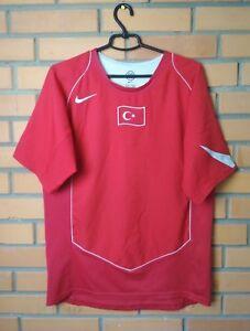 Turkey Jersey 2004 2006 Home MEDIUM Shirt Nike Football Soccer Trikot Maglia