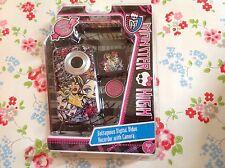 ⭐ Monster High ⭐ enregistreur vidéo numérique avec caméra ⭐
