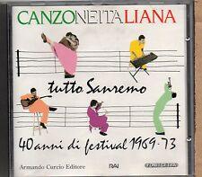 SANREMO 1969 1973 CD NADA PATTY PRAVO RICCHI POVERI LUCIO DALLA LARA SAINT PAUL