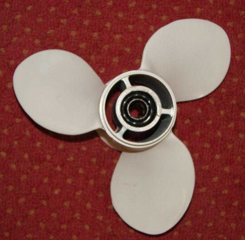 Propeller ALU 9 1/4 1/4 9 x 11 für Yamaha , Parsun, Sail, Hidea 5a752c