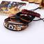 Fashion-Set-Men-Women-Handmade-Genuine-Leather-Bracelet-Braided-Bangle-Wristband miniatura 16