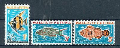 Règne Animal mnh Poissons Animaux De Mer Wallis & Futuna P 37-39
