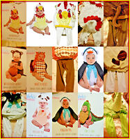 Boo Babies Halloween Costumes Owl/chiken Nugget /penquin/pupp/ T Rex/monkey/ Nw