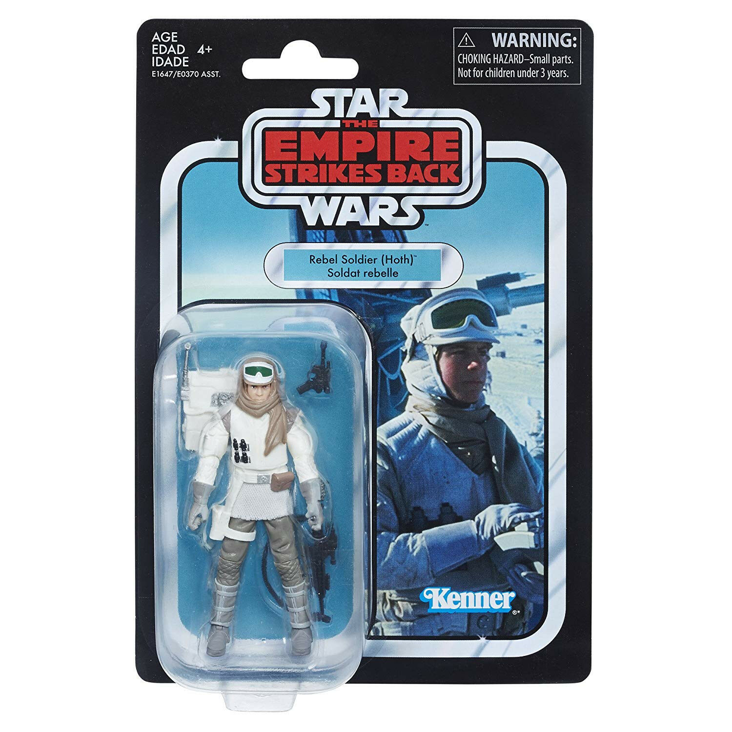 Star Wars E1647 E5 Vintage collection Rebel Solider Hoth Action Figure