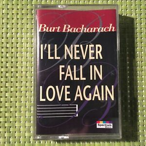 Burt-Bacharach-I-039-ll-Never-Fall-in-Love-Again-Album-on-Audio-Cassette-Tape-TESTED