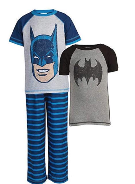 4785f1afe2 Komar Kids Boys 3 Piece Pajama Sleepwear Set Batman Sz 2t for sale ...