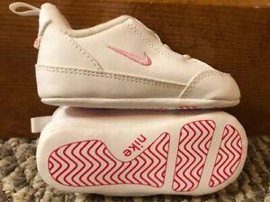 Baby Girl Size 4 Nike Crib Shoes 309533