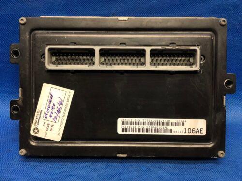PROGRAMMED PLUG /& PLAY 99 DURANGO 5.2 ECM ECU CONTROL MODULE PCM P56040106AE 106