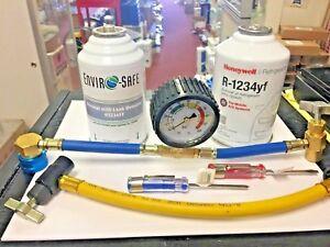 R1234yf Refrigerant Honeywell 1 8 Oz Can Proseal Leak Detector Dye Tools Ebay