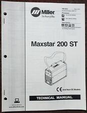 Miller Maxstar 200 St Technical Manual