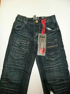 BOYS-ST-BERNARDS-DENIM-JEANS-DUNNES-STORES-4-5-6-7-8-9-BNWT-OSAKA-TIGER-JAPAN