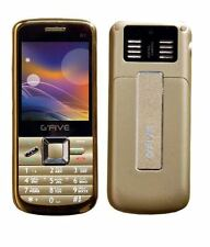 gfive w1 four sim quad sim 4 sim mobile gsm cam 3000 mah golden color new