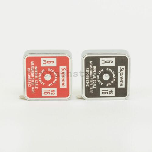Supreme SS19 Penco Tape Measure pouch box tee logo keychain cap band aid camp