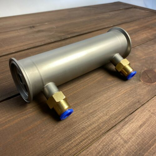 "Shotgun 2/"" Condenser for Moonshine Reflux Still Column Stainless Steel"