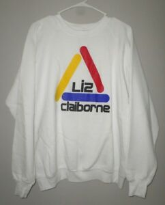 Triangle Sweatshirt Wear Girocollo Pride 1980's Liz Claiborne Rainbow 7fqpOwvcTx