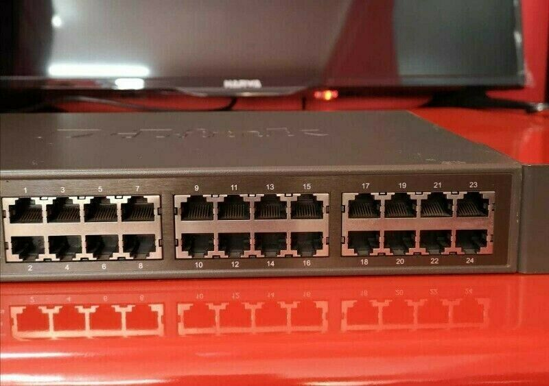 D-Link 24 Port Network Switch.