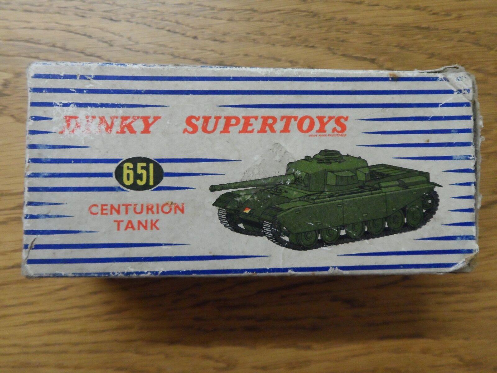 DINKY TOYS 651 Centurion Tank-très bon & boxed