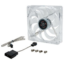 Rosewill 120mm Computer Case Fan, 4 Blue LED Lights, FDB, Silent, RFTL-131209B