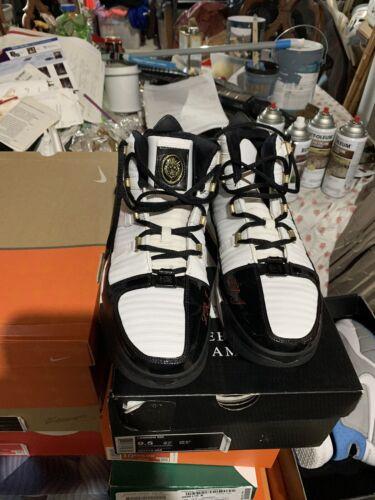 Nike Lebron 3 Black Remix PE Sz 11.5 Rare Promo Sa