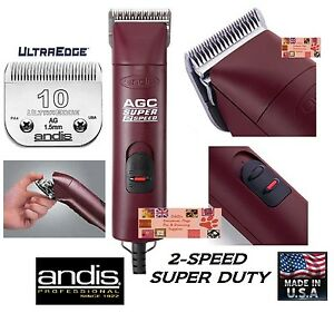 Andis Super Pro 2-speed Coupe-ongles Set&10 Lame Blade Chien De Compagnie Cheval