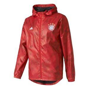 Details about Adidas - FCB WINDBREAKER - GIACCA A VENTO BAYERN MUNCHEN - art. AZ5334