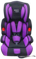 Autokindersitz Gruppe I / Ii / Iii - Lila - Mitwachsend, 5-punkt-gurt Kindersitz
