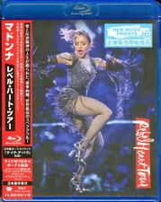 Madonna Rebel Heart Tour 2017 Blu-ray With Bonus Track for Japan Only