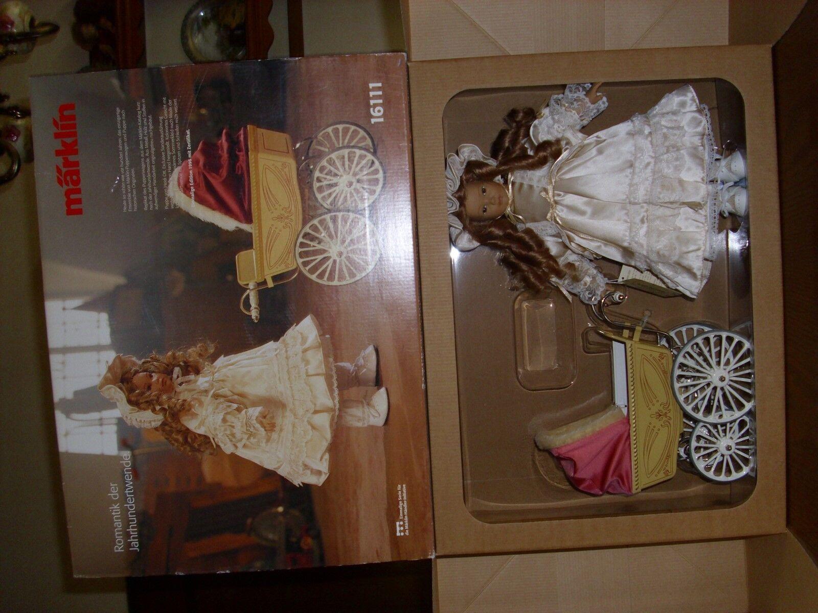 Märklin muñecas carro con Heidi ott muñeca