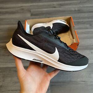 Nike Air Zoom Pegasus 36 Da Donna Nero Scarpe Da Ginnastica Corsa flyease UK4.5 US7 EUR38