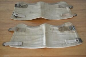 Vintage-gaiters-ex-army-canvas-military
