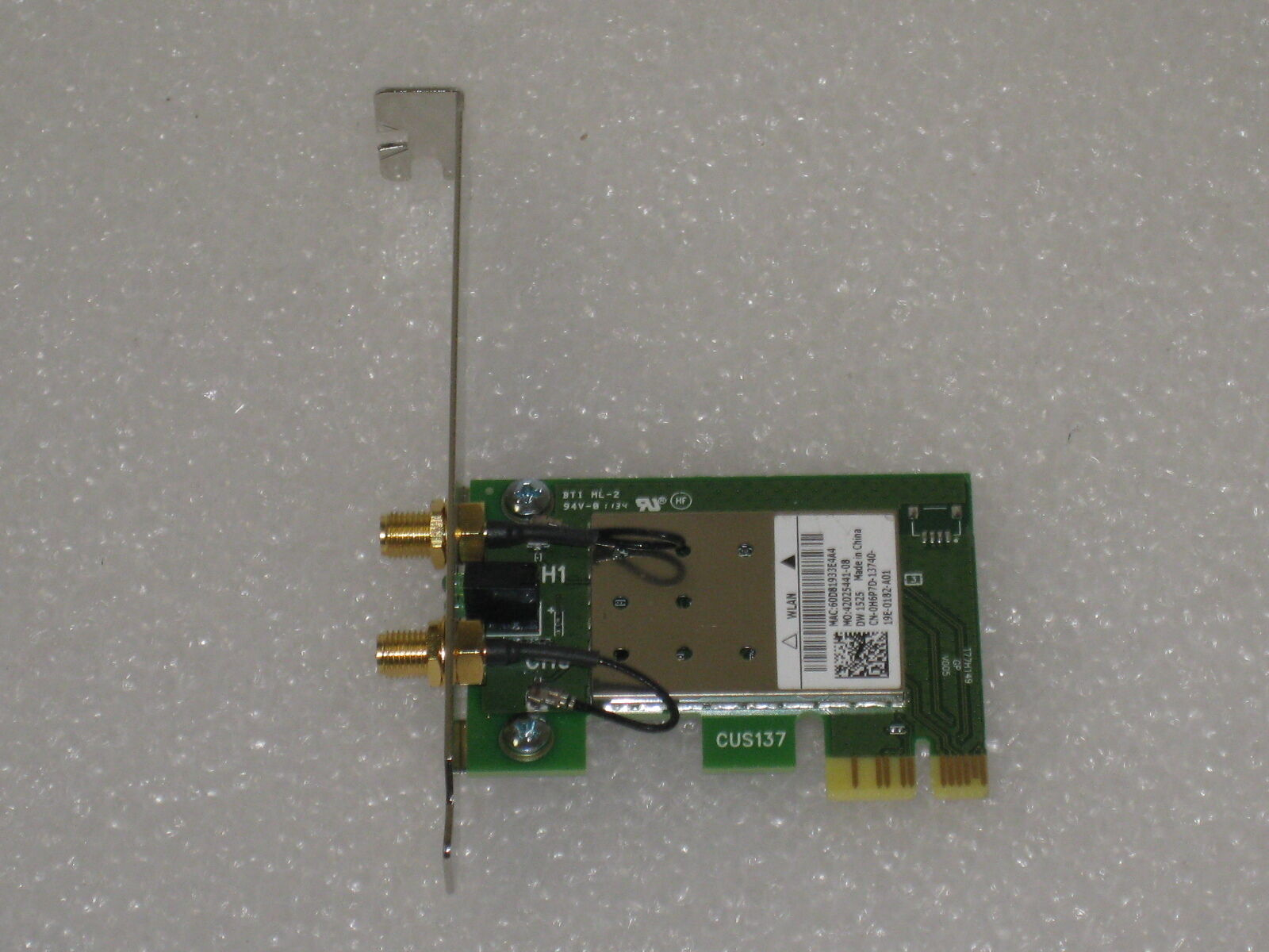DW1525 WLAN PCIE CARD DRIVER FOR WINDOWS MAC