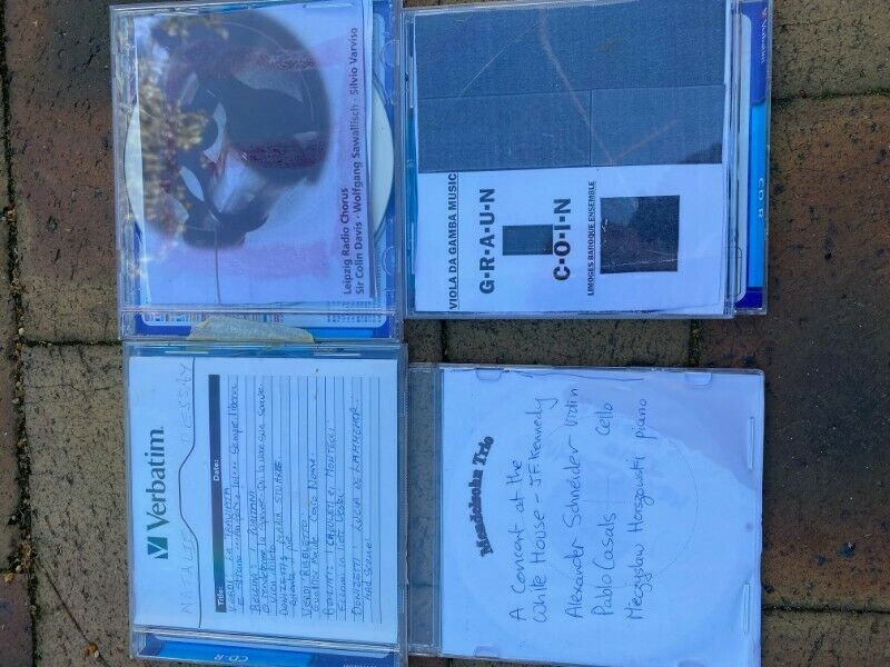 Remains of Pictures of Classical CD's for sale