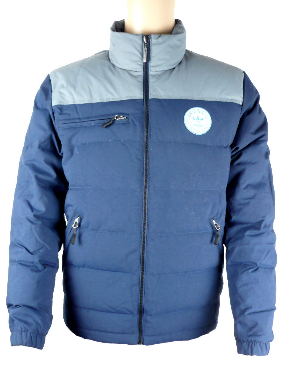 Adidas Originals Praezision Down Doudoune Sport Veste Veste D'Hiver Bleu