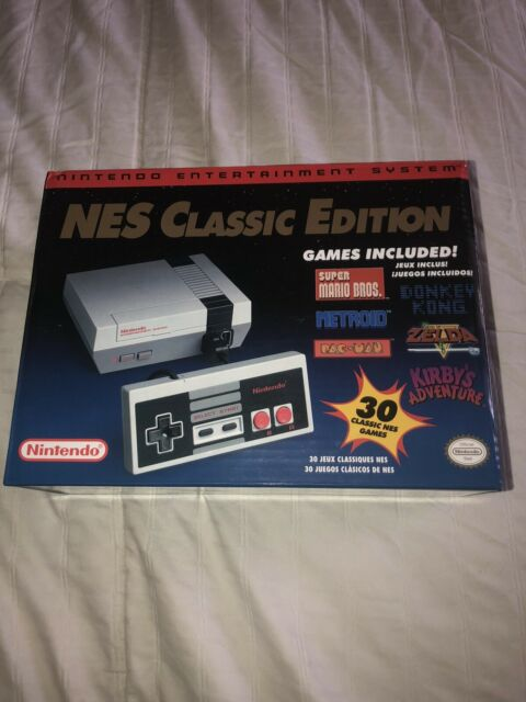 Nintendo Classic Edition NES Mini Game Console USA Brand New Never Used