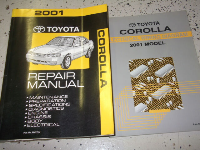 1995 Toyota Corolla Service Repair Shop Set Oem Service And The Electrical Wiring Diagrams Full