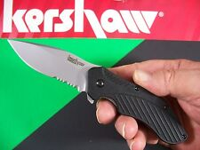 Kershaw - Clash Spring Assist SpeedSafe A/o Knife Ken Onion Black Kai KS 1605-st